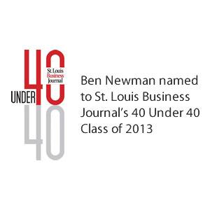 Ben Newman 40 under 40 St. Louis Business Journal